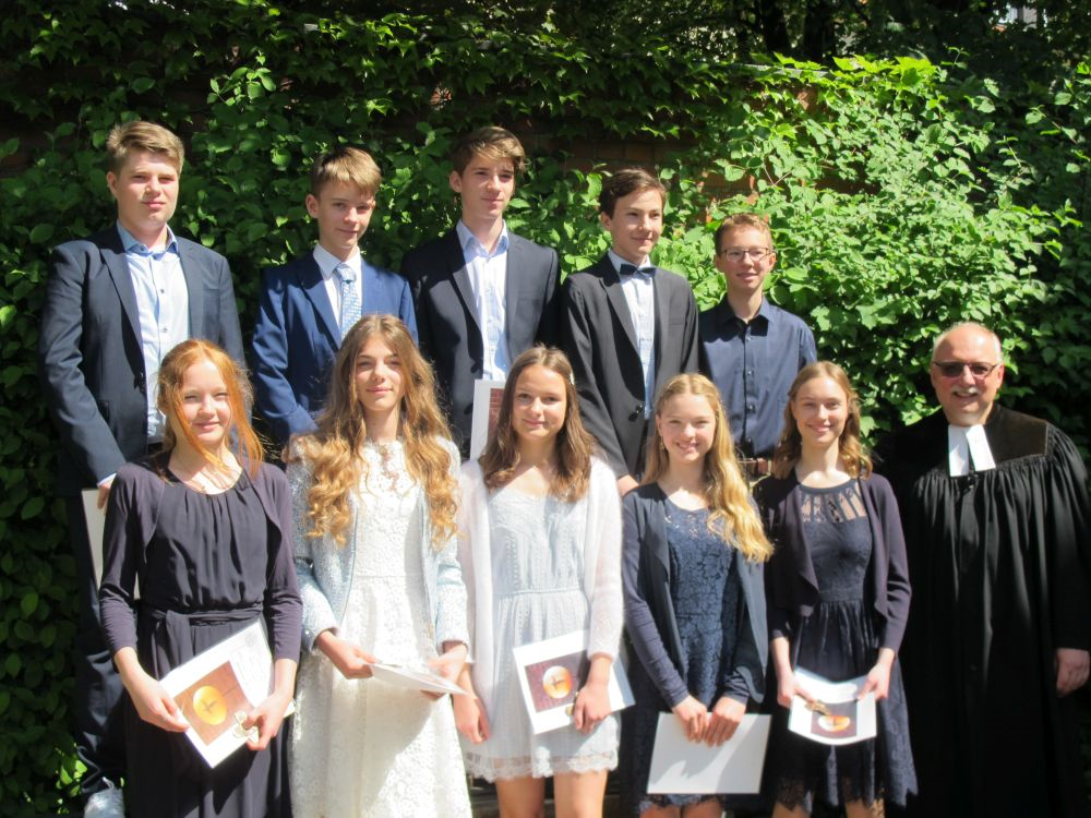 Konfirmation am 6. Mai 2018