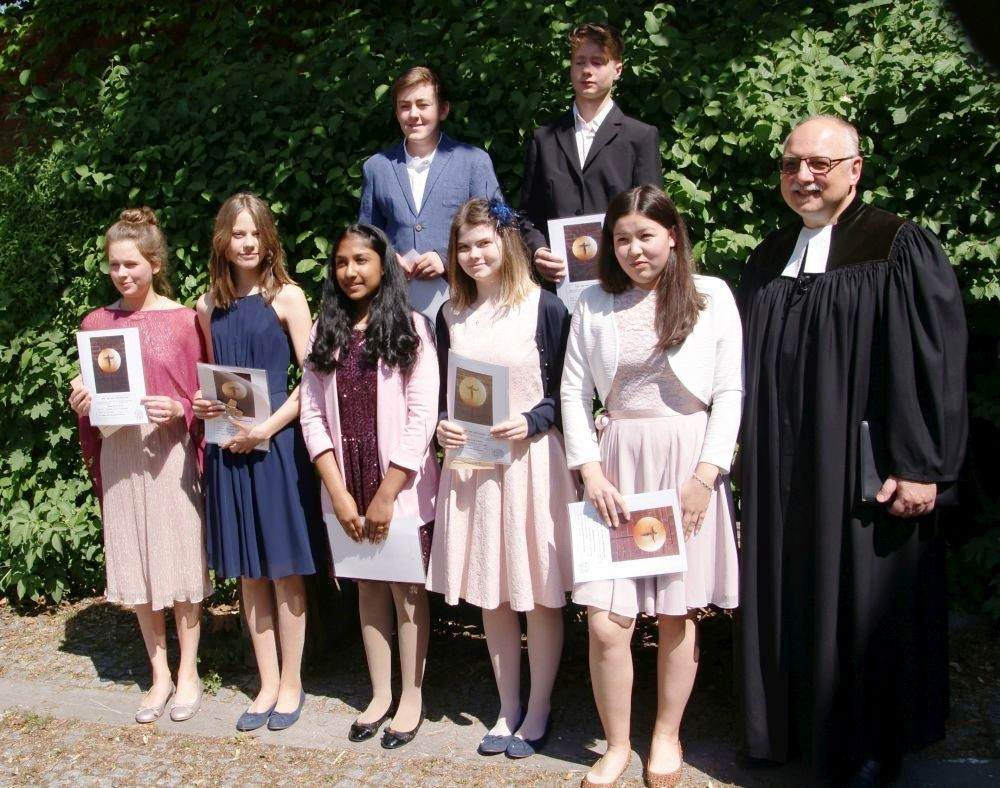 Konfirmation am 13. Mai 2018